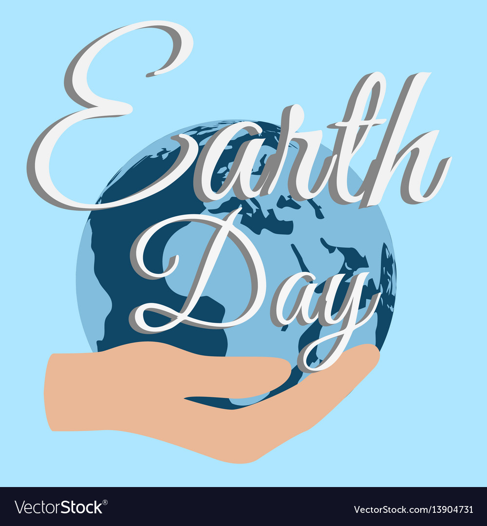 Earth day planet care nature