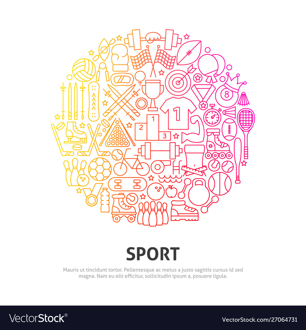 Sport circle concept