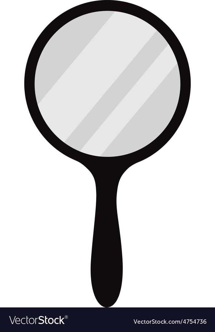hand mirror. Hand Mirror Vector Image Hand
