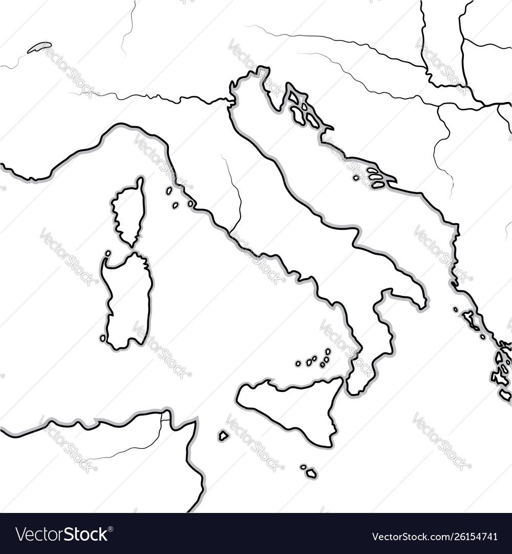 Map the italian lands italy tuscany