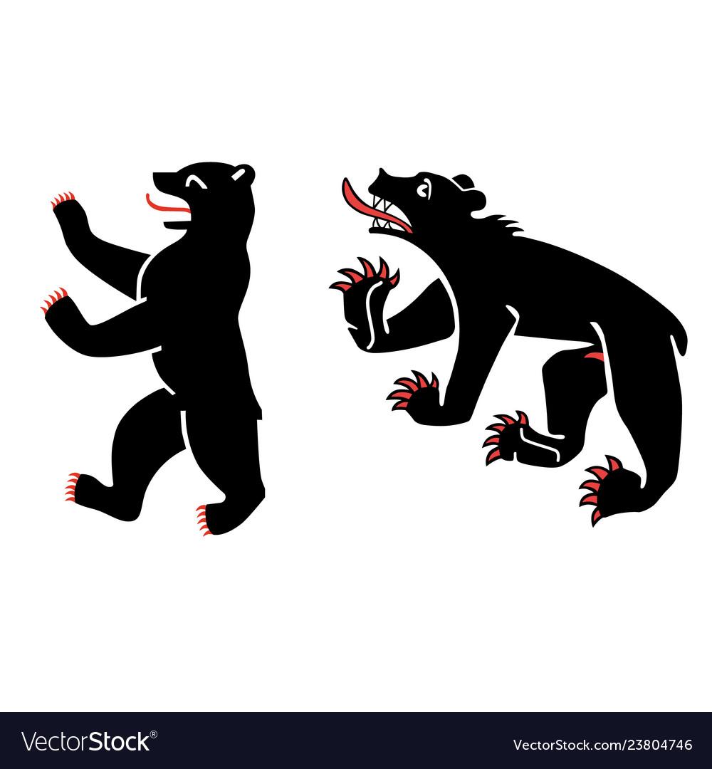 Heraldic bears