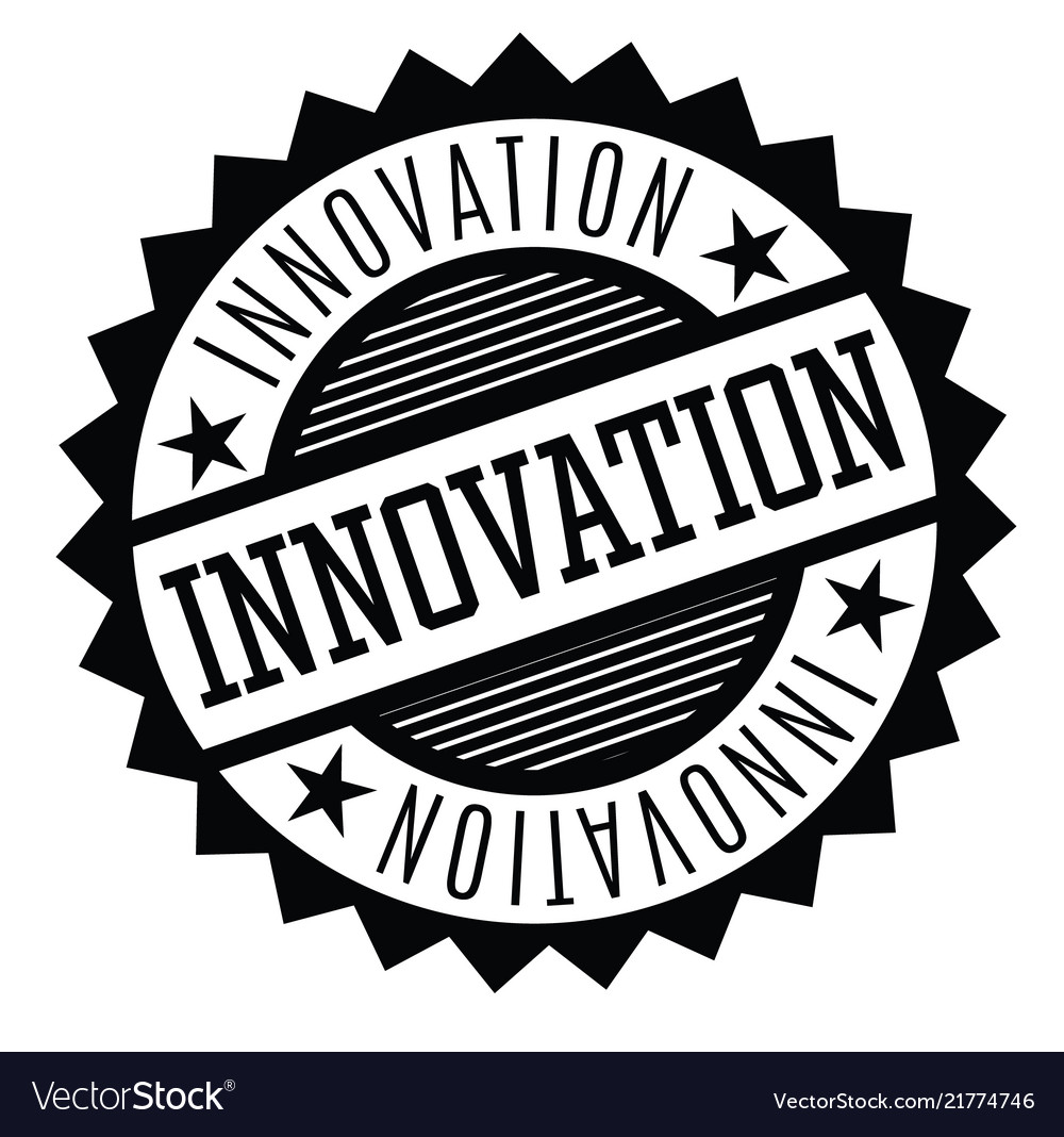 Innovation rubber stamp vector image on VectorStock