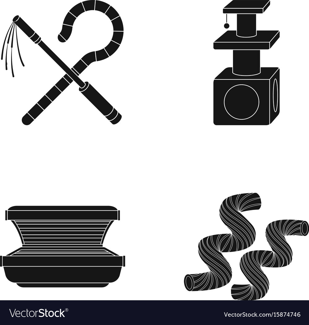 Symbols Of Power Of The Pharaoh Toy For An Animal Vector Image