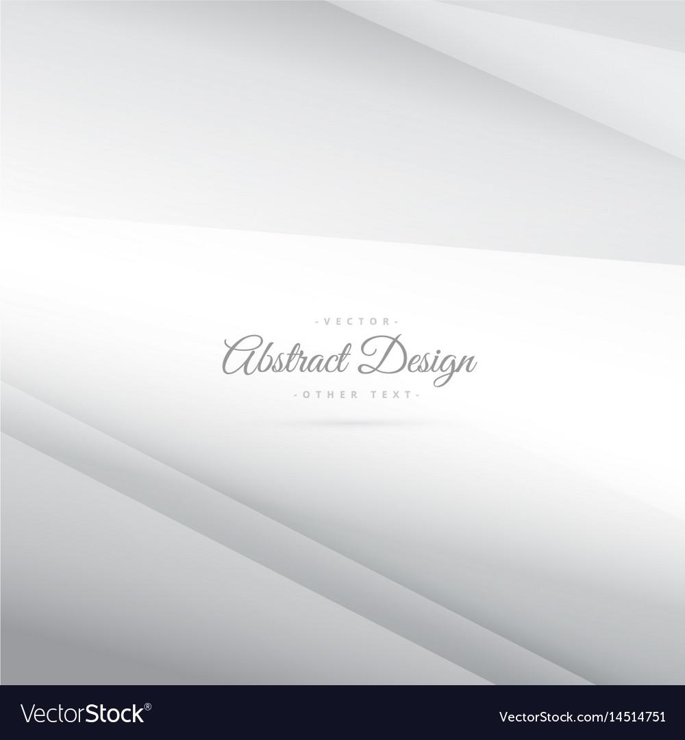 Elegant minimal silver white background