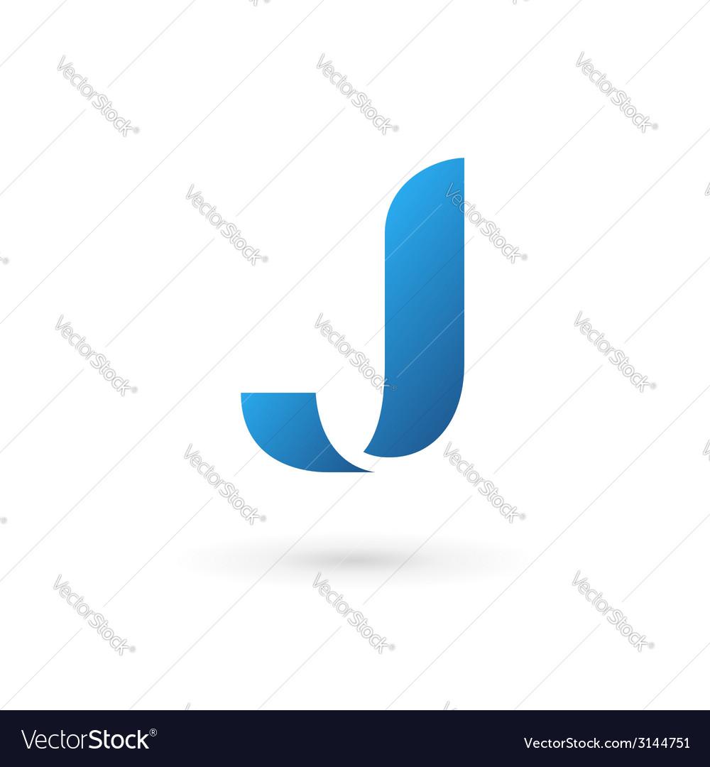 Letter J logo icon