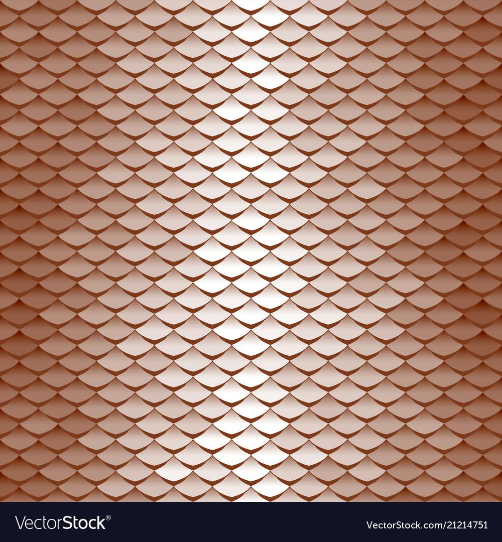 Seamless scale pattern
