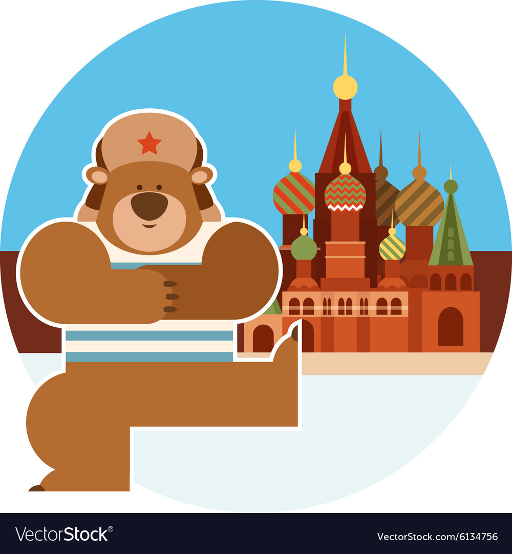 Dancing russian bear