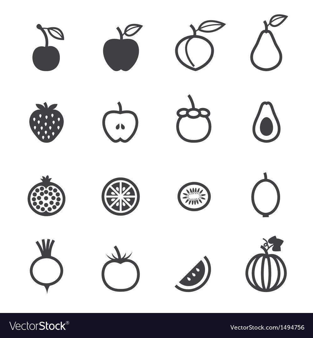 картинка условного обозначения фрукты и овощи светлых волос большой