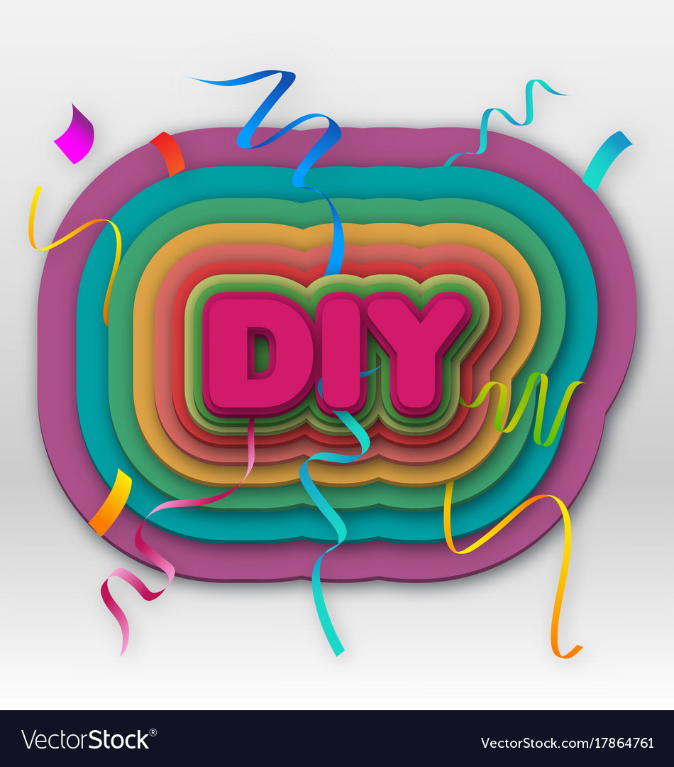 Diy vector image