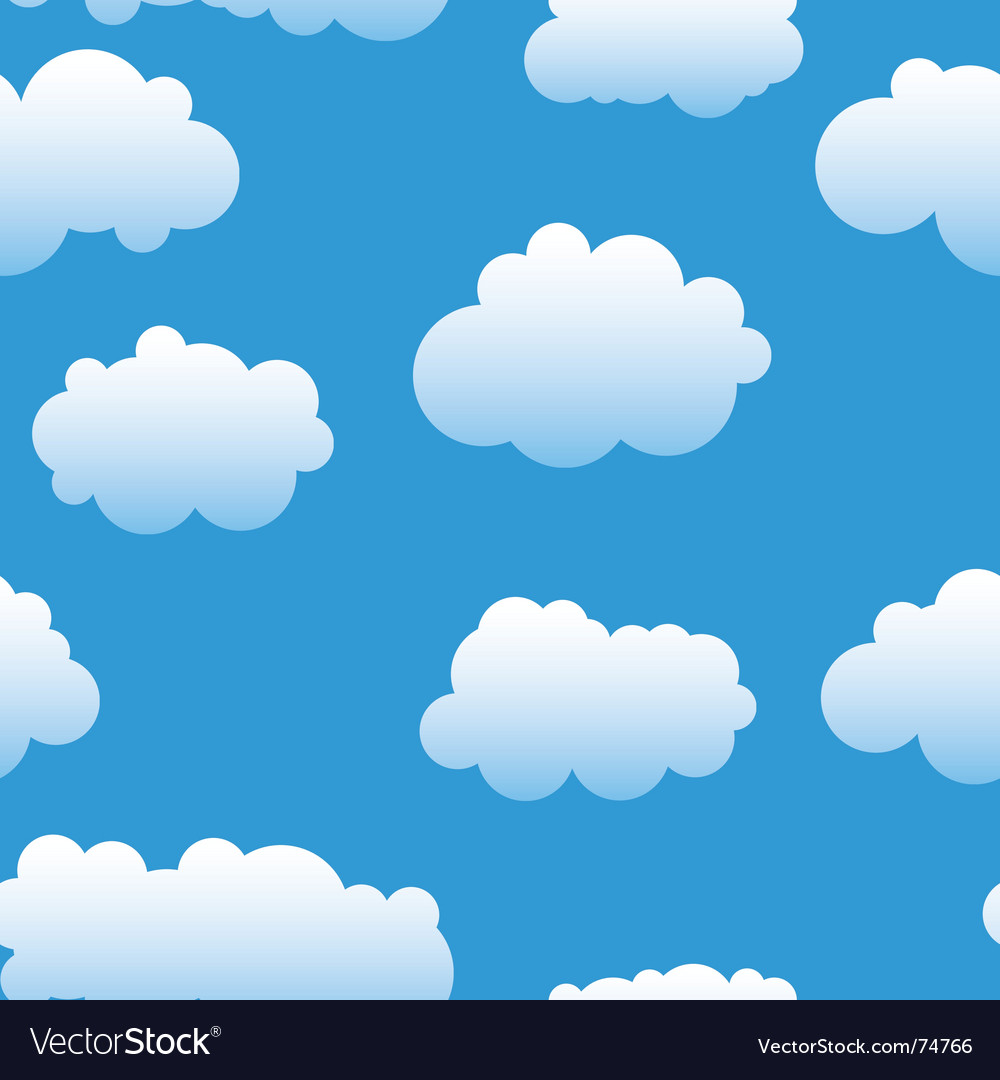 abstract clouds background royalty free vector image