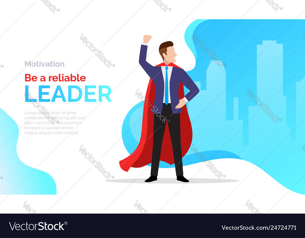 Be a reliable leader motivate poster