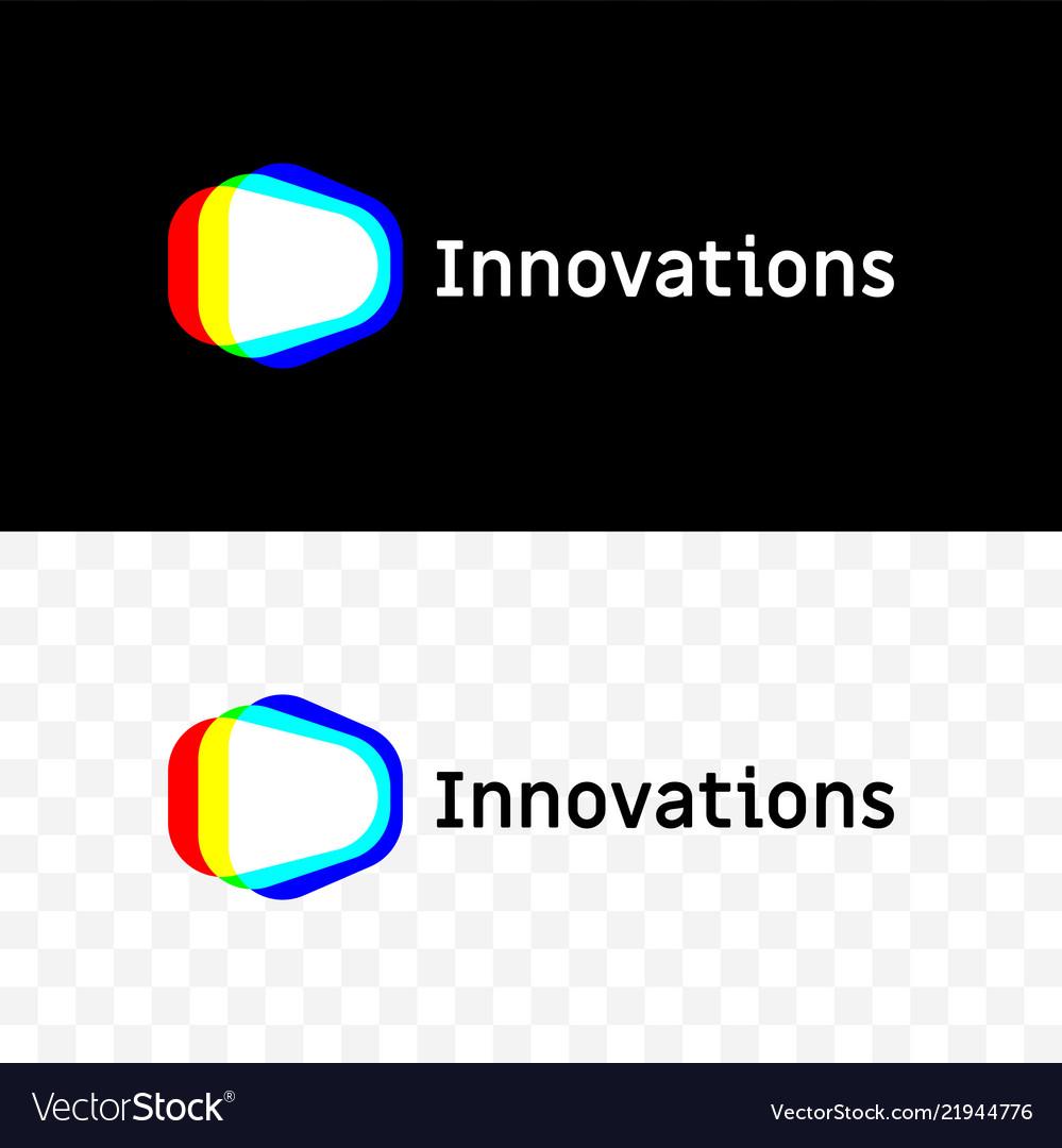 Innovations company light spectrum icon
