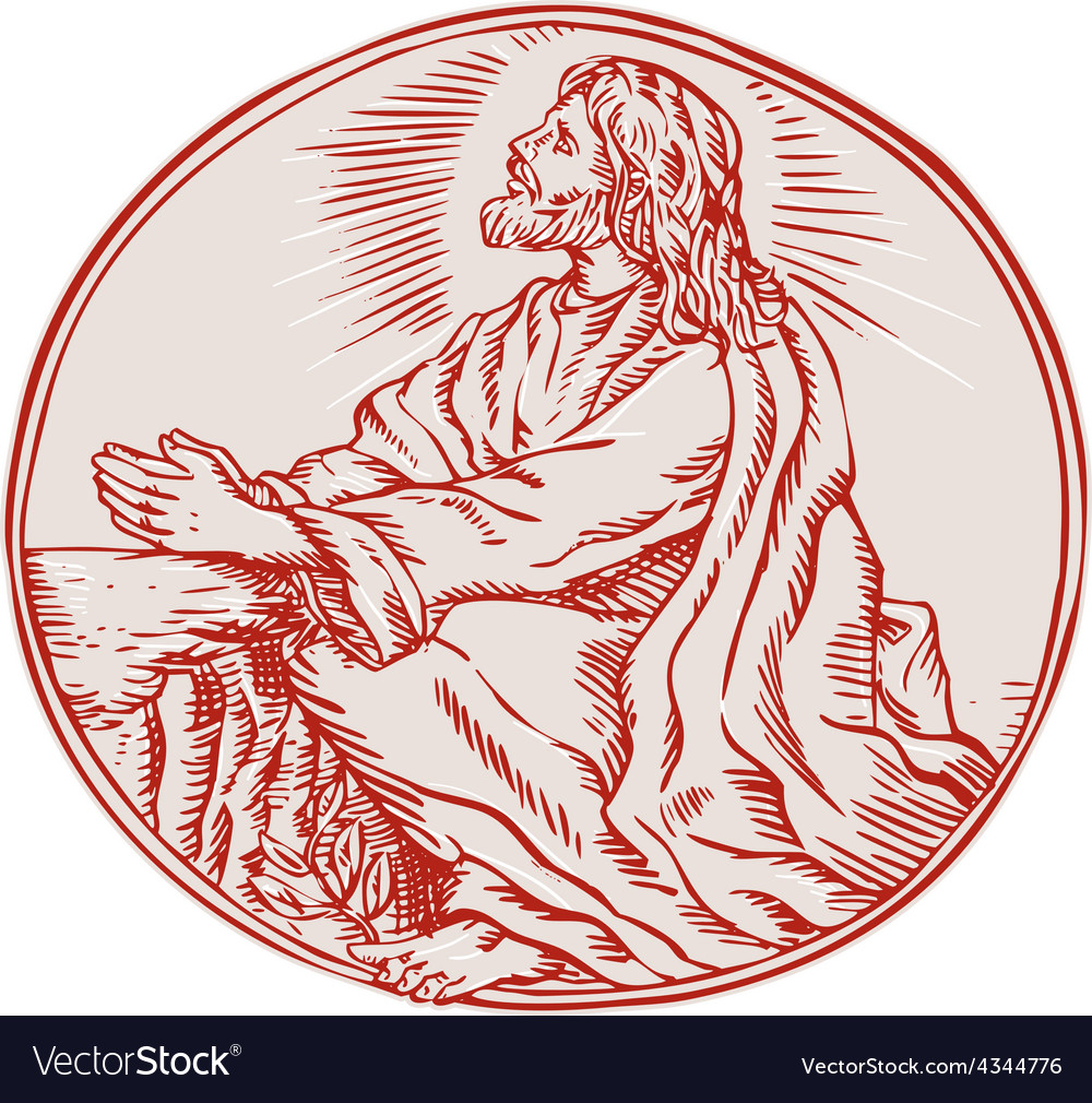 Jesus & Looking Vector Images (43)