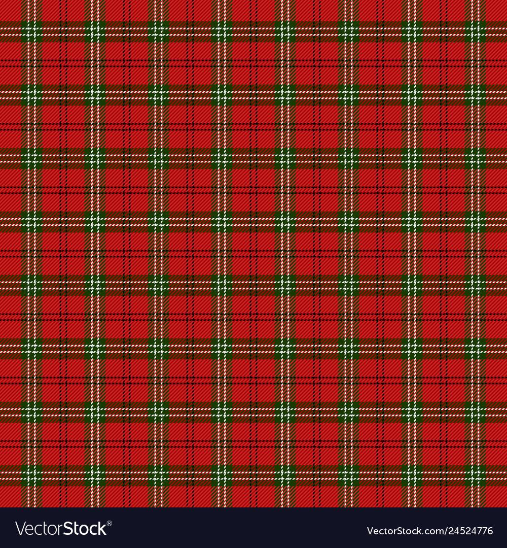Tartan Plaid Pattern Scottish Cage Royalty Free Vector Image