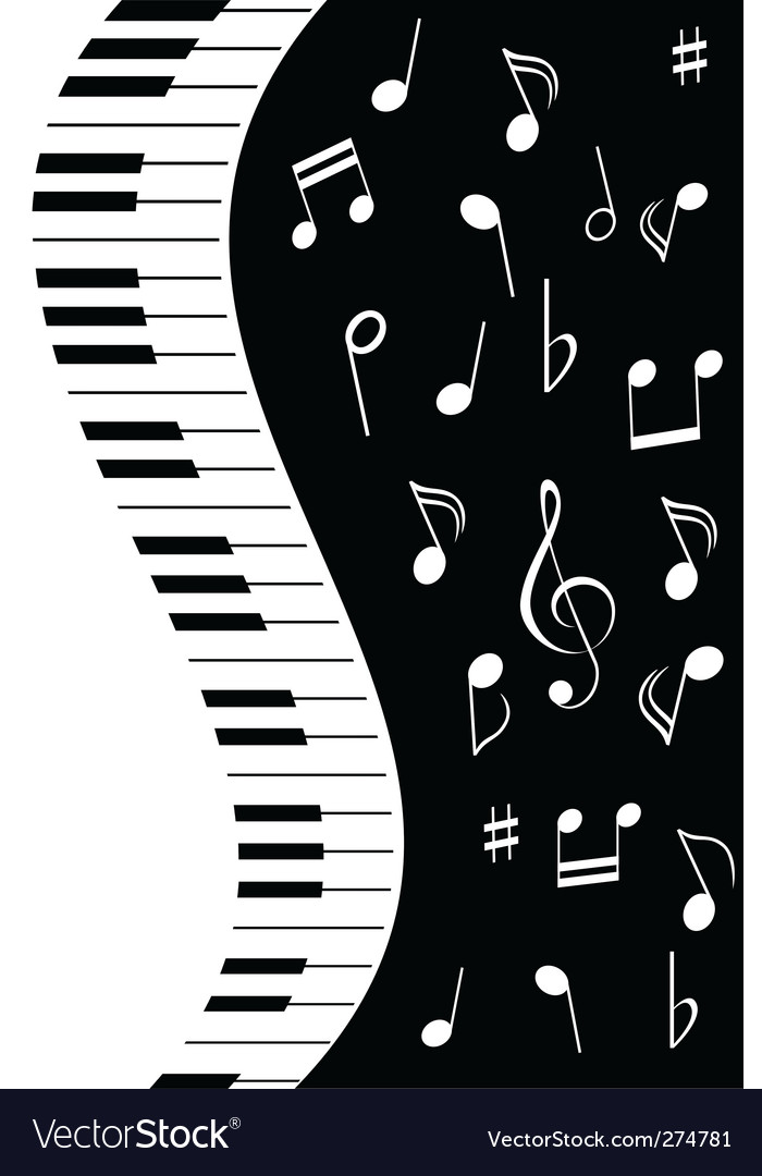 Music piano note