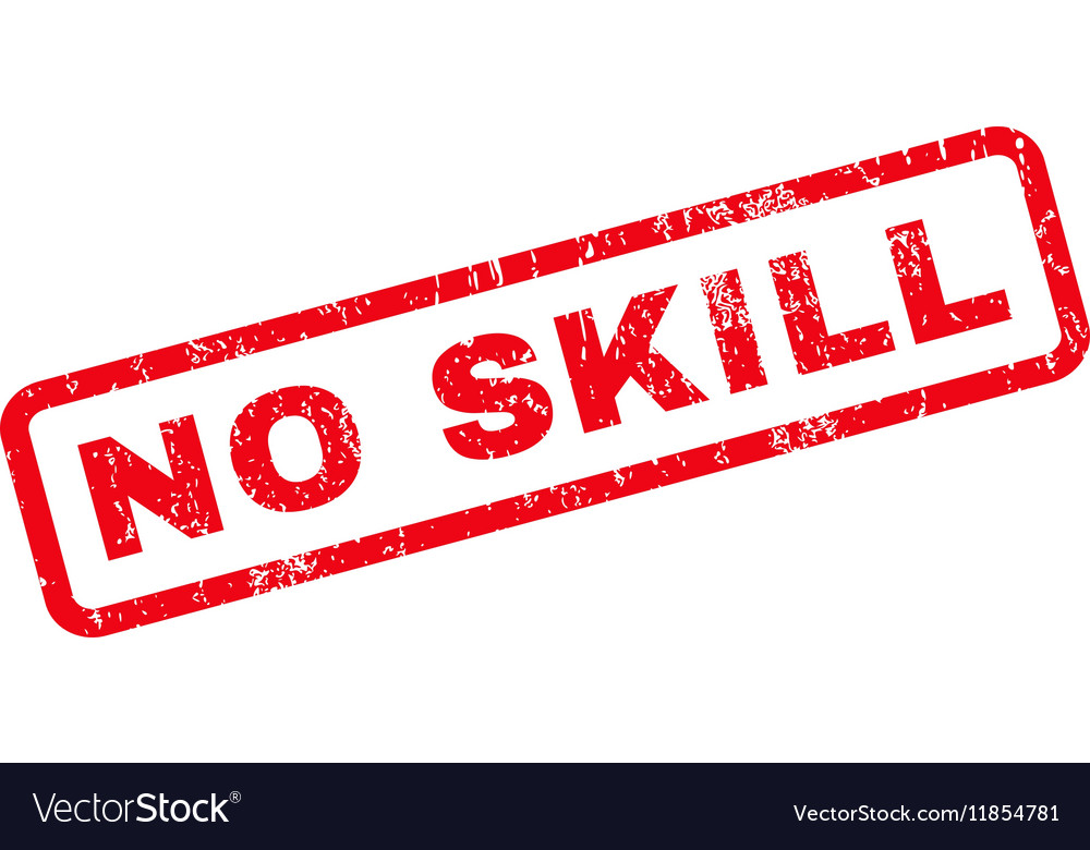 No Skill Rubber Stamp