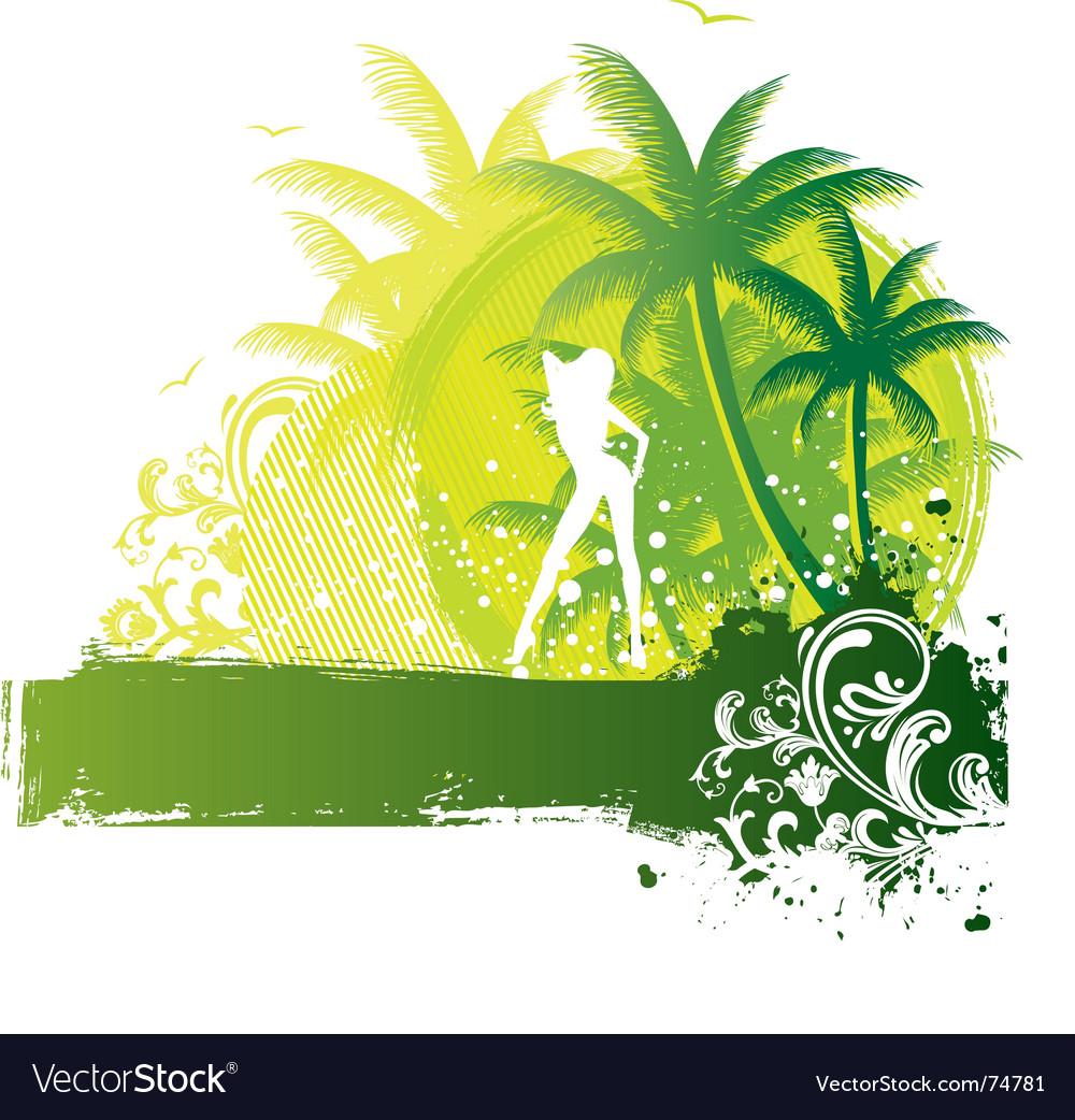 Palm girl
