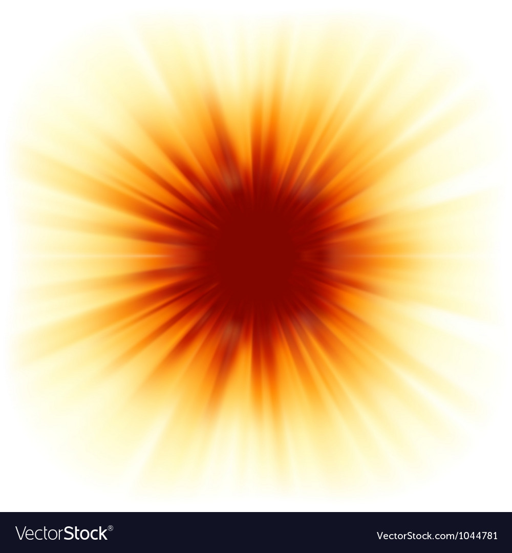 Red color design with a burst EPS 8 vector image