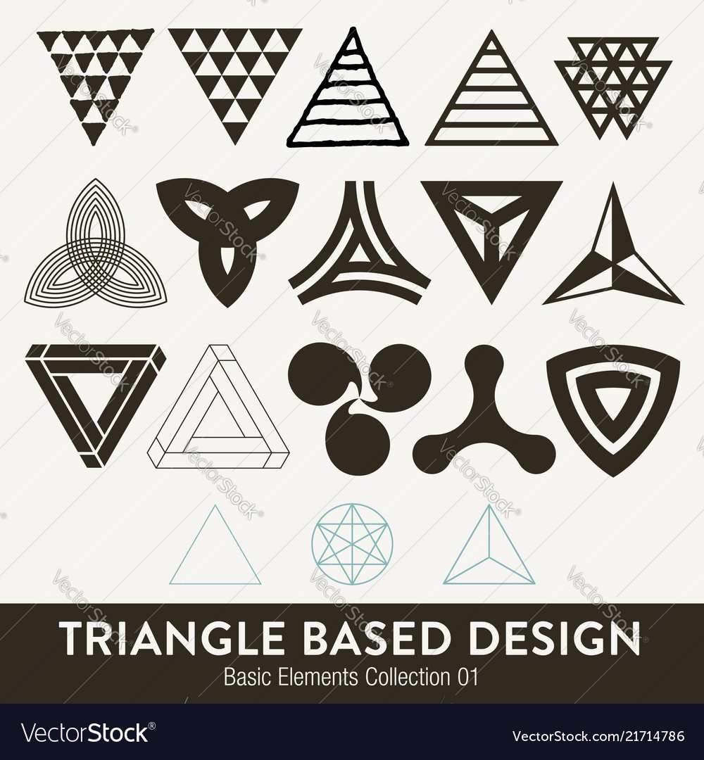 Basic element collection triangle based design