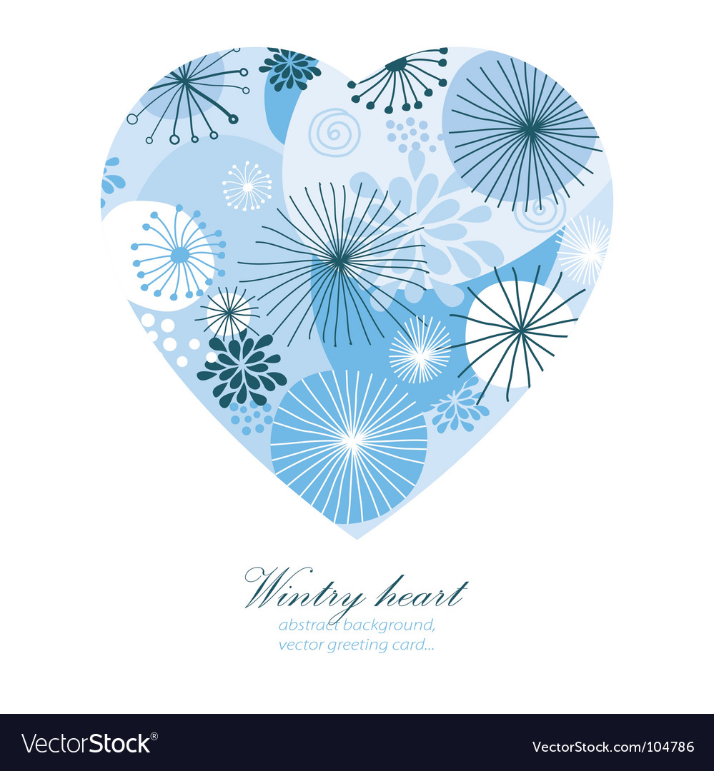 Wintry heart