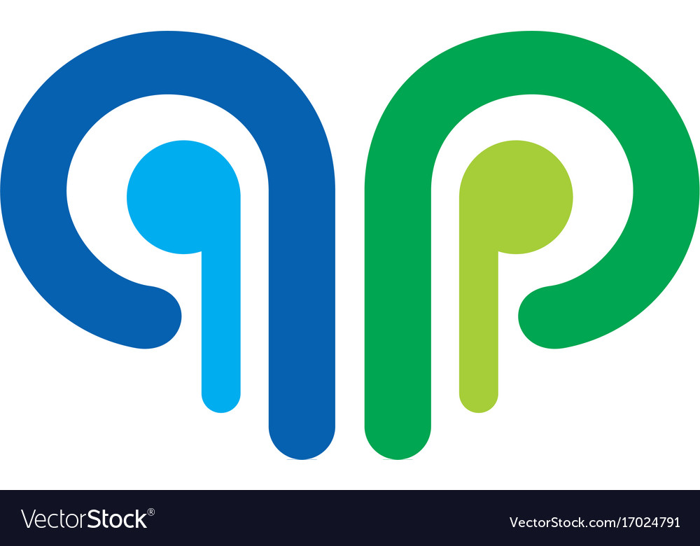 Abstract round shape colored ornament logo
