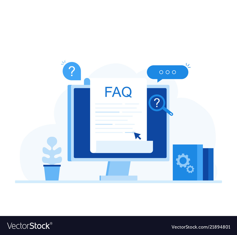 Frequently asked questions faq banner