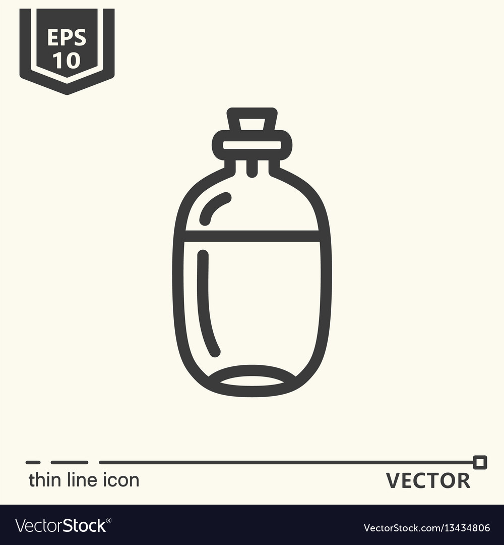 Ayurvedic supplies - icon series
