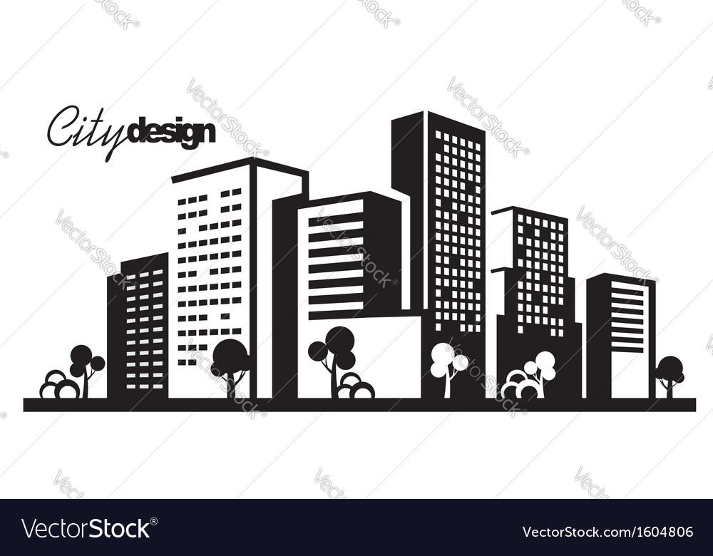 black city royalty free vector image vectorstock rh vectorstock com city victoria city victorville