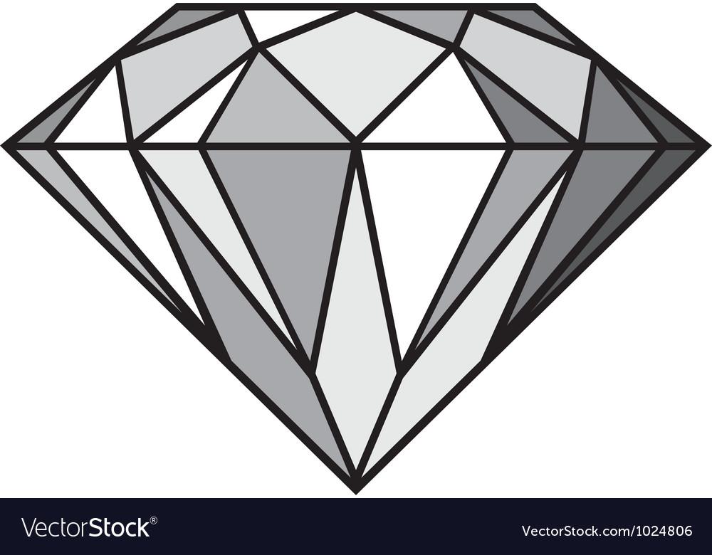 diamond royalty free vector image vectorstock rh vectorstock com diamond vector pattern diamond vector fitness