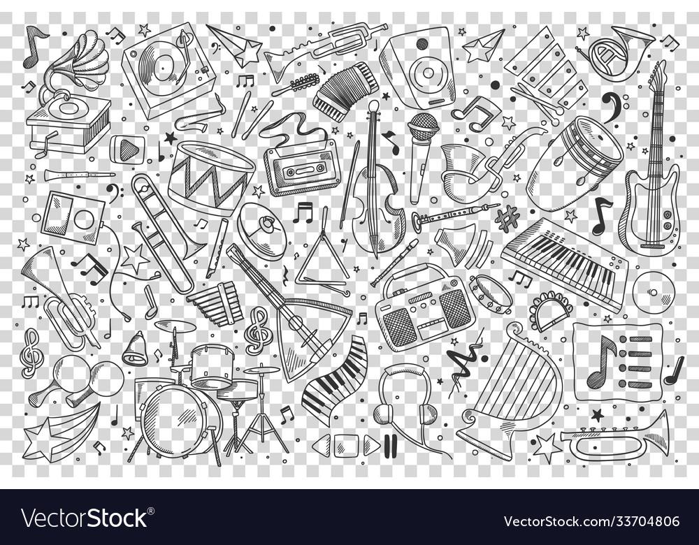Music doodle set