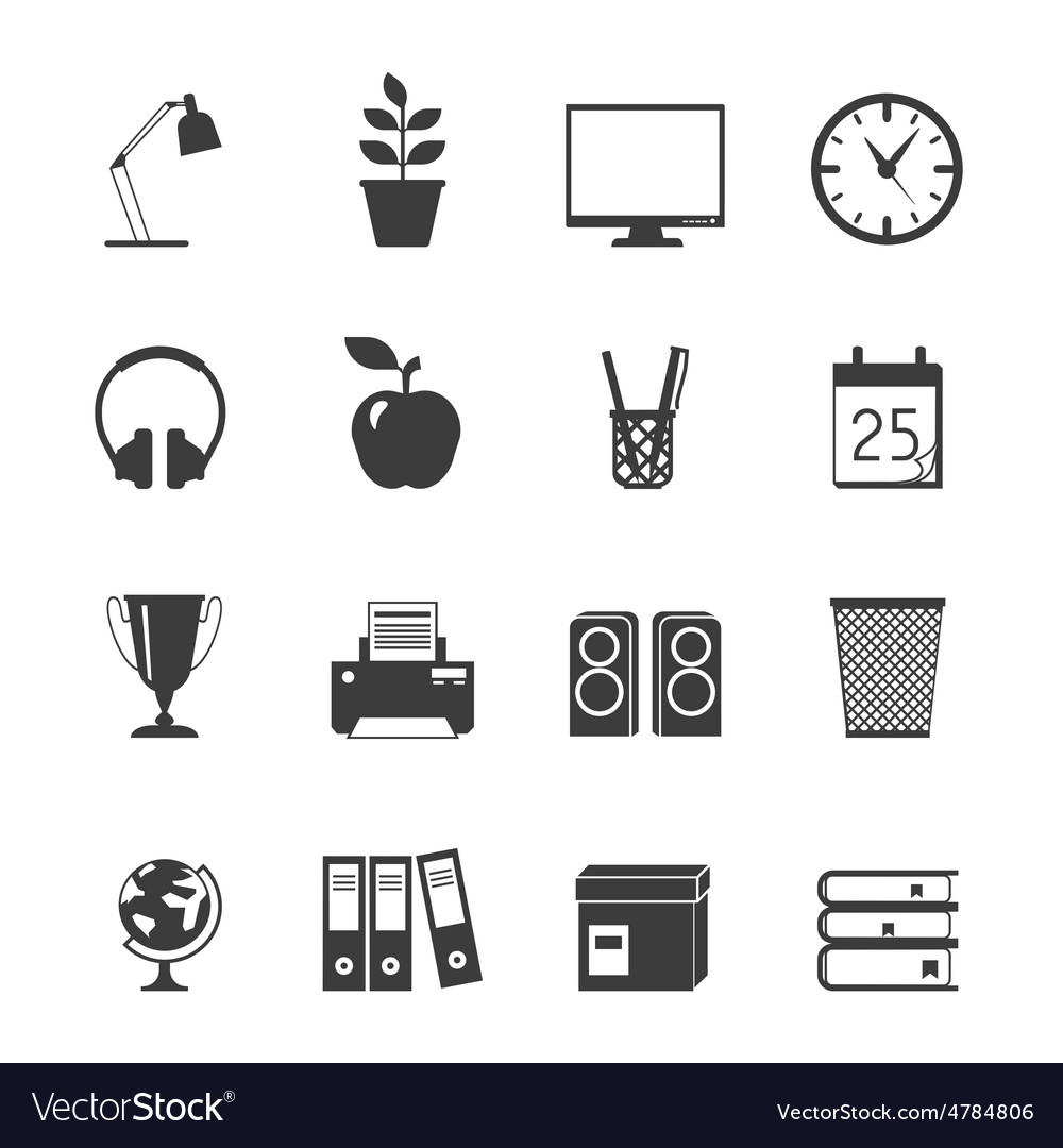 Room Icons Set