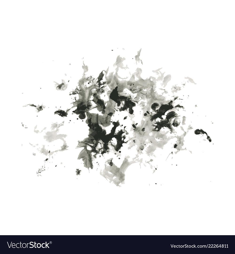 Abstract ink splash