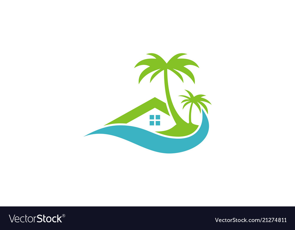 Cottage beach hotel logo