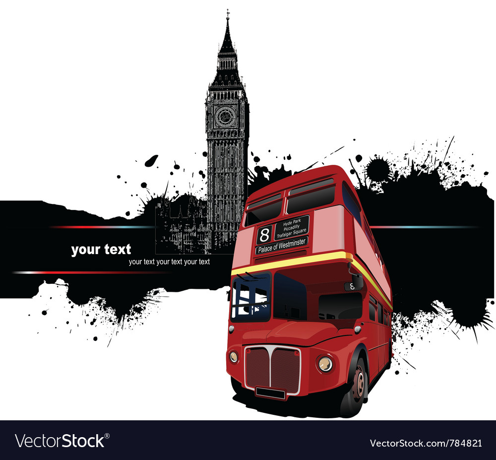London banner vector image