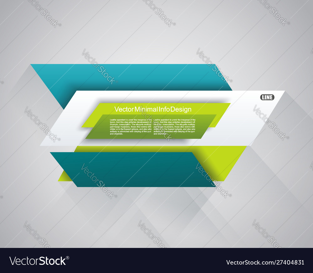 Bright banners template for business design
