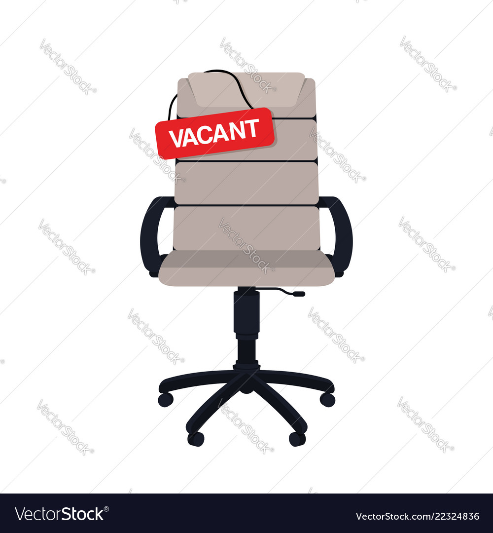 Business hiring and recruiting concept vacant