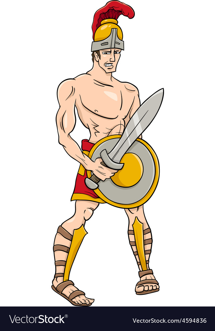 Greek God Ares Cartoon
