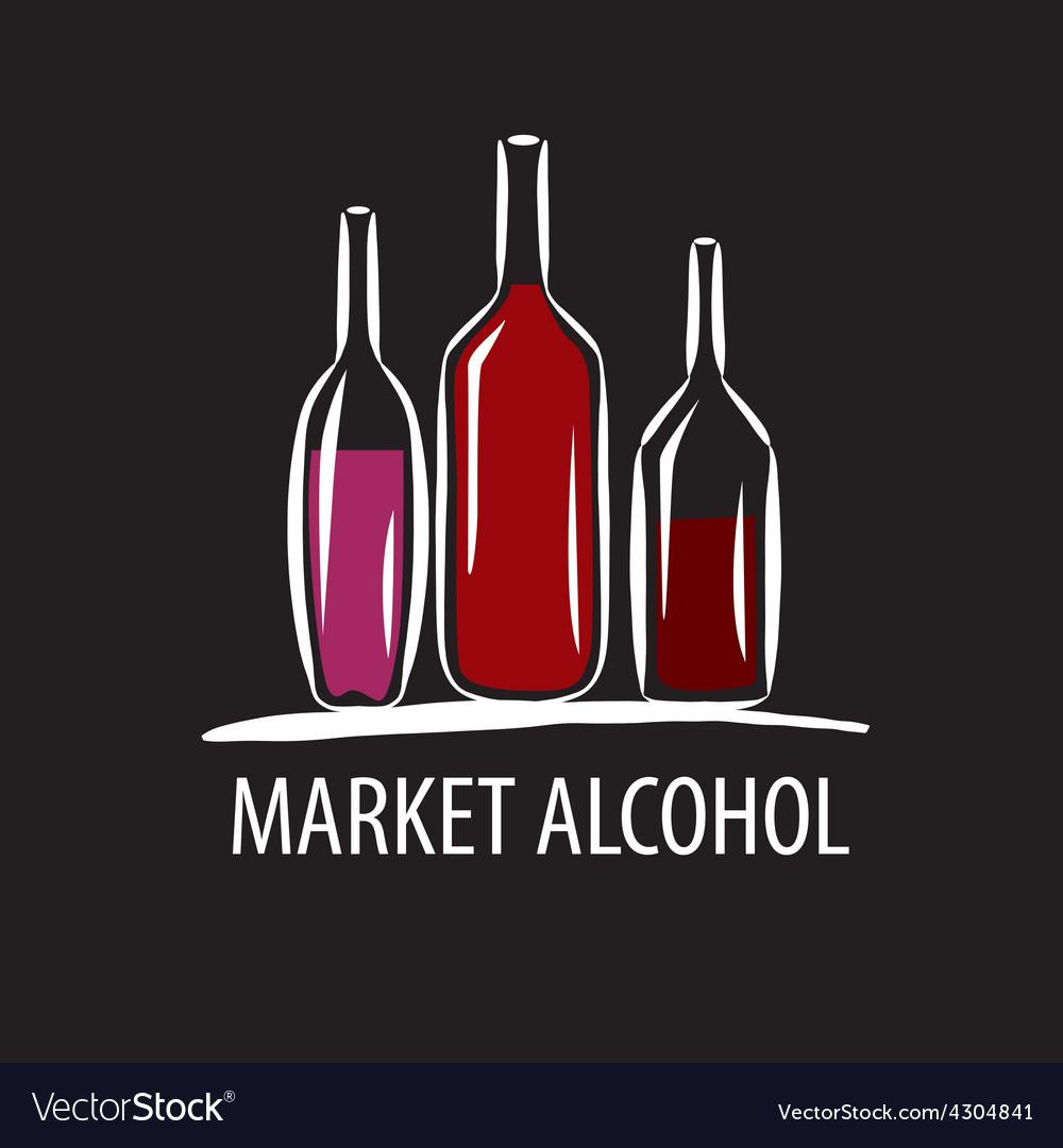 Wine Bottle Logo