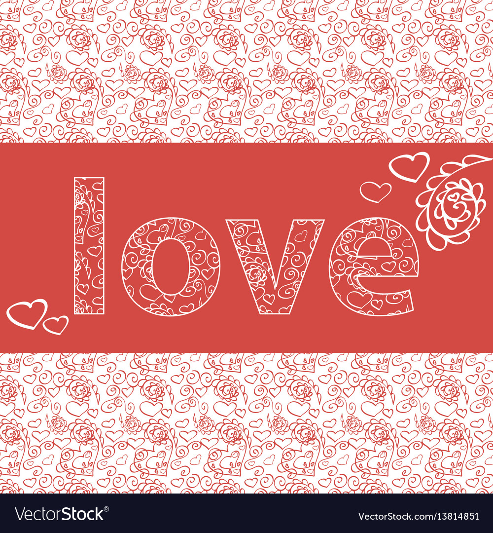 Love Card Template For Word Pansi