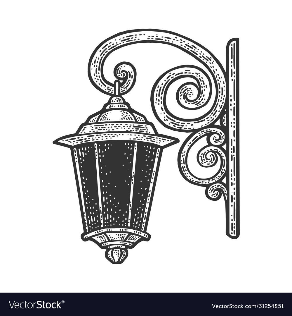 Lantern Tattoo Old Vector Images 29