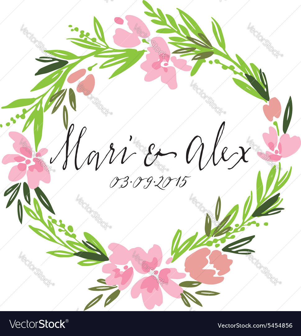 Flower pattern Wedding Birthday Handmade