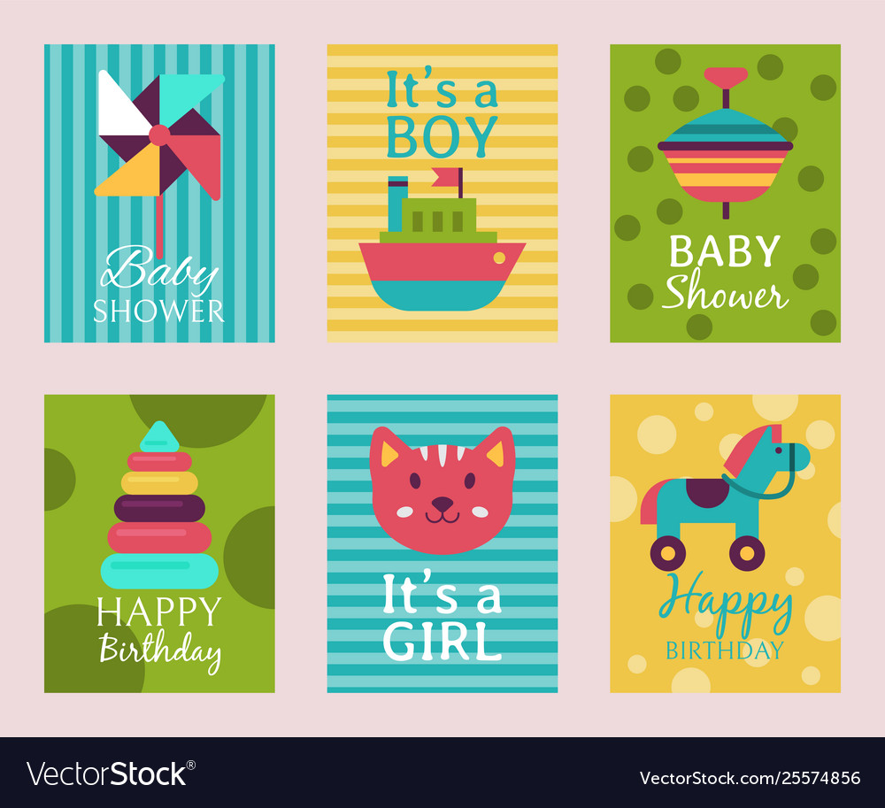 Happy Birthday Invitation Card T Shirt Print Baby