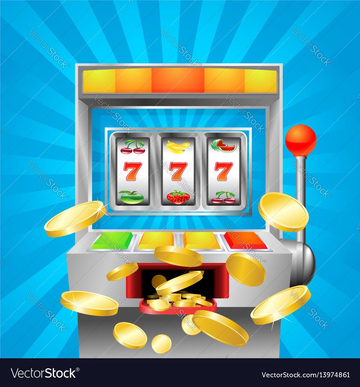Slot fruit machine winning