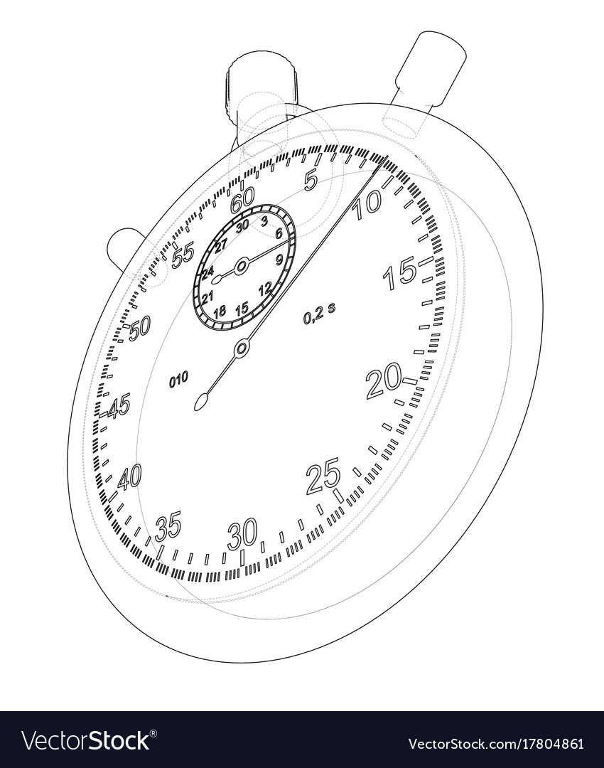 Stopwatch or timer sketch