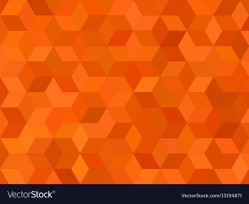 3d cube mosaic pattern background