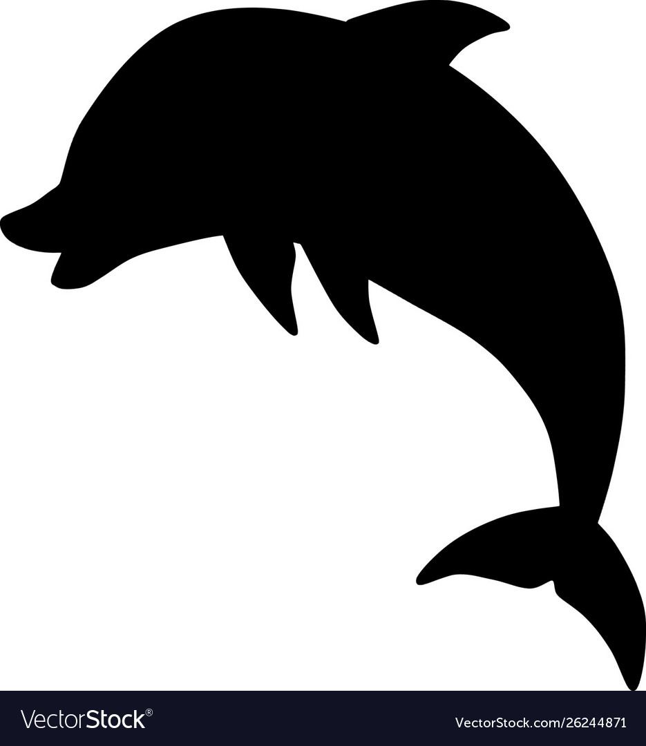 Dolphin Silhouette Jump Royalty Free Vector Image Download 3,100+ royalty free dolphin silhouette vector images. vectorstock