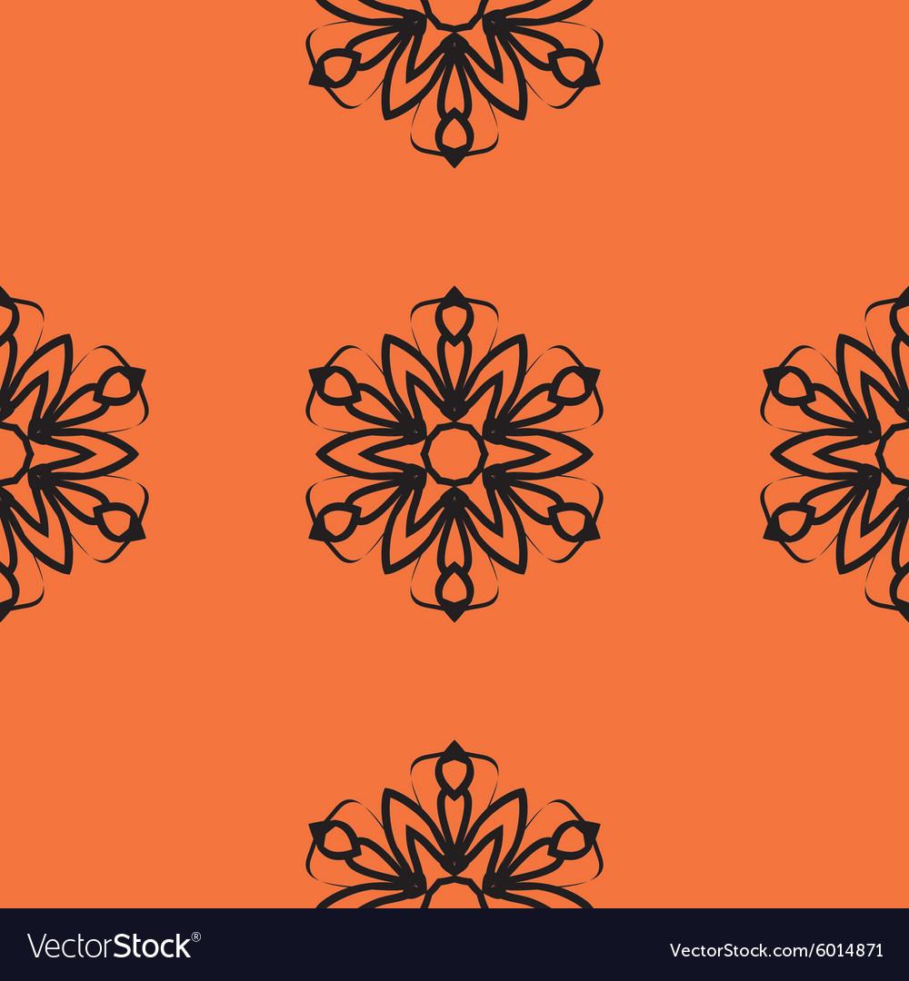 Mandala tile Seamless elegant Ornamental stylized