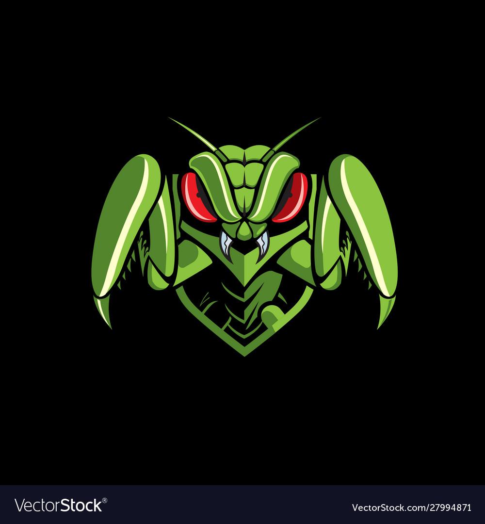 Mantis emblem logo