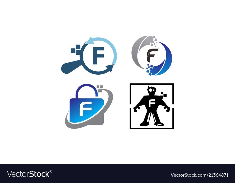 Technology application f template set