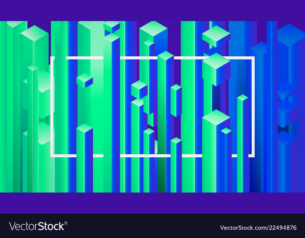 Abstract image background with geometric elements